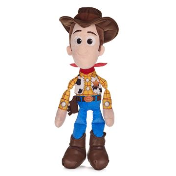 """Disney Toy Story 4 Woody Size 56cm 22"""" Soft Plush Toy Ages 4+"""