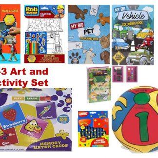 1-2-3 Art and Activity Set 8 pcs