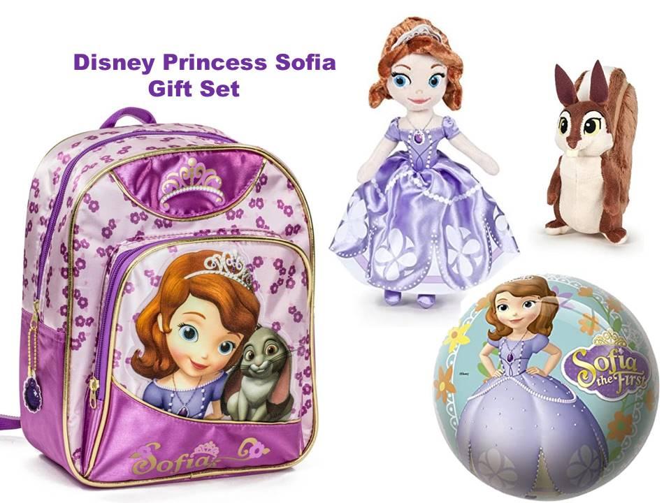 Disney Princess Sofia 4 Piece Gift Set
