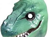 Dinosaur Mask - 2 assorted colours-One supplied at Random