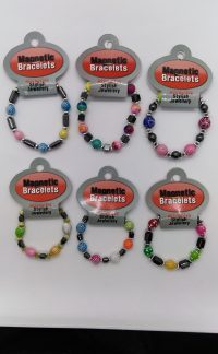 Magnetic Bracelets x 6 supplied assorted (Party Bag Toys)