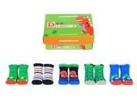 Cucamelon Dinosaur 5 Pairs of Socks 1-2 Years Toddler Baby