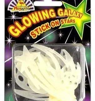 Glowing Galaxy Stick on Stars