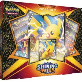 Pokemon TCG Shining Fates Pikachu V Collection Box Set