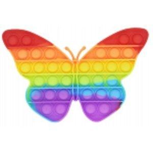 Butterfly Rainbow Bubble Popping Sensory De-Stress Toy