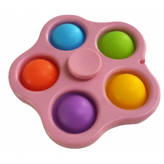 Spin Bubble Silicone Spinner Toy