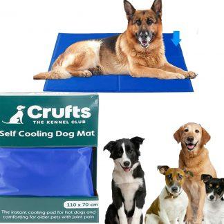 Extra Large Crufts Pet Dog Cat Self Cooling Mat