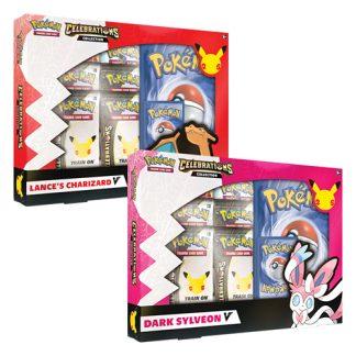 Pokemon - Celebrations V Box - Lances Charizard V & Dark Sylveon V
