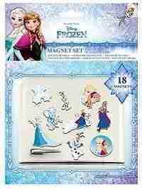 Disney Frozen Magnets 18 x 24cm - 18 Magnets
